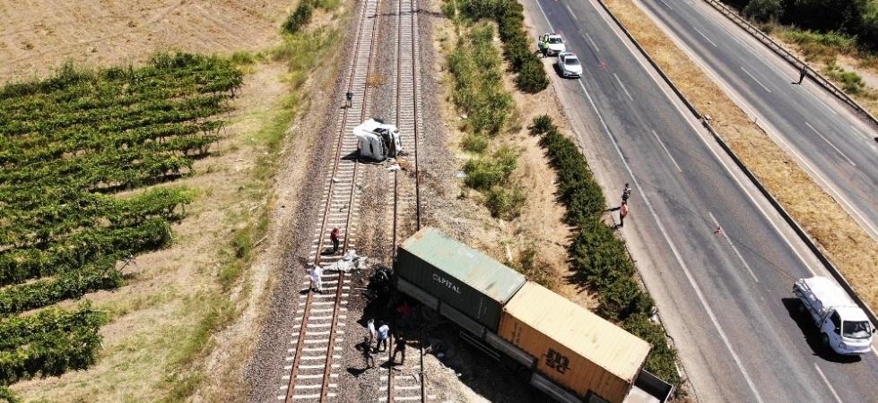 Manisa'da 3 gün içerisinde aynı yerde ikinci kaza