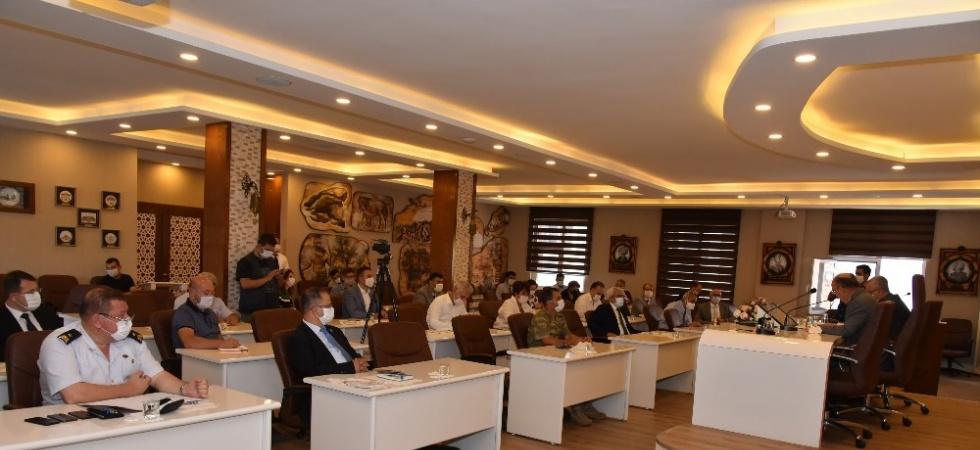 Manisa'da Pandemi Kurulu toplandı