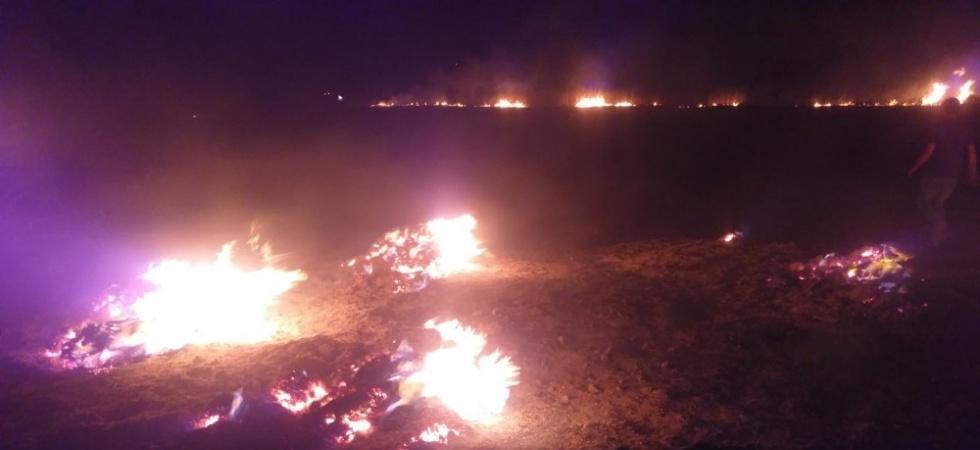 Manisa'nın Salihli ilçesine meteor düştü iddiası