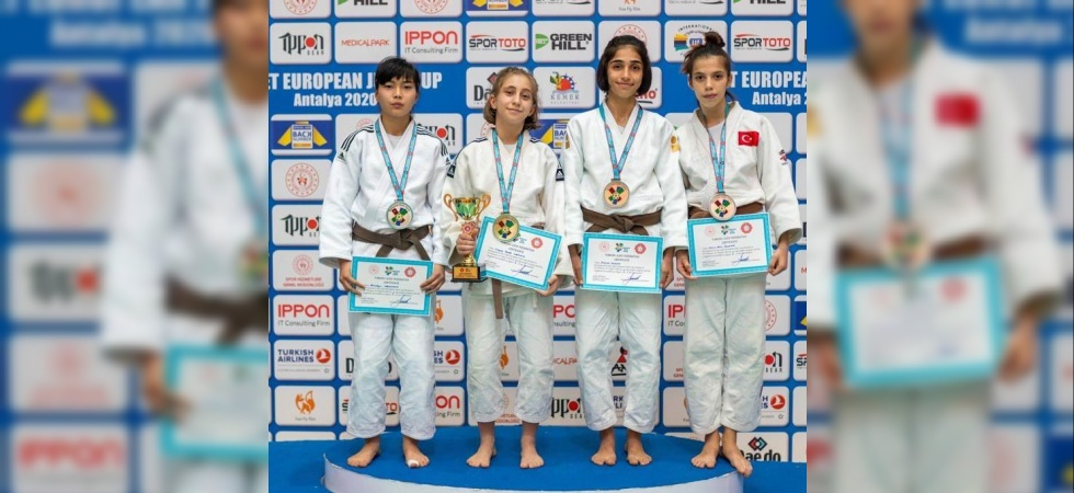 Salihlili 4 judocuya milli görev