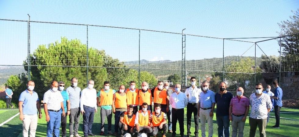 Spor Toto'dan Çaypınar'a futbol sahası