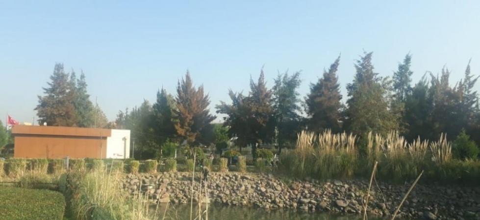 Atatürk Kent Park'ta kış bakımı