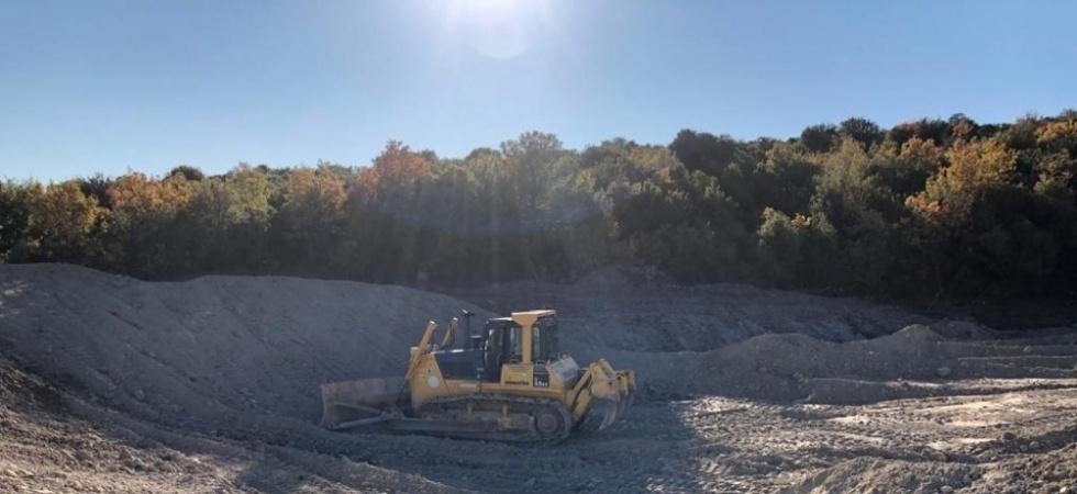 Aydınlar'da HİS göletleri temizleniyor