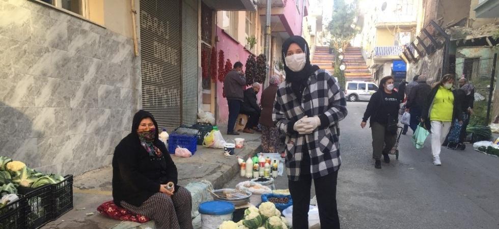 Alaşehir'de semt pazarı son kez kuruldu