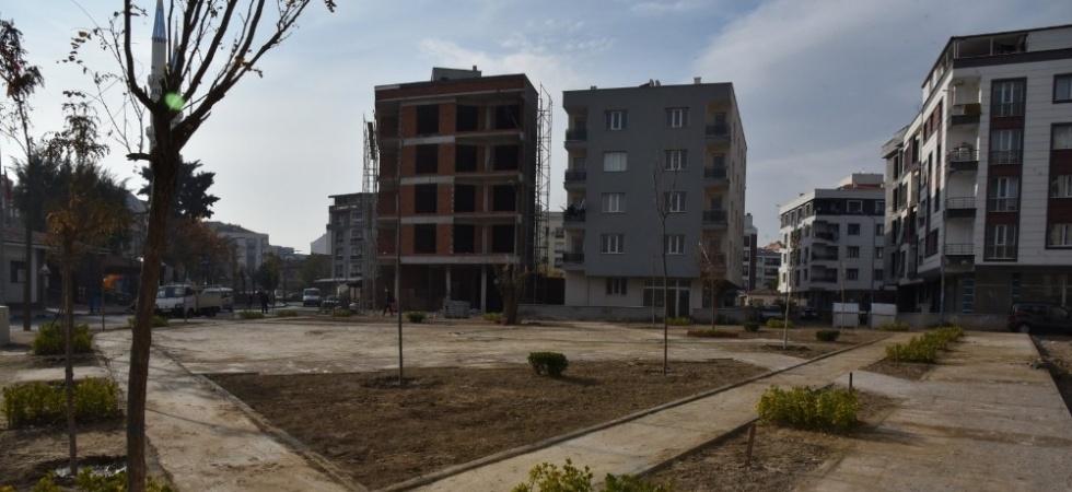 Atatürk Mahallesi yeni bir parka kavuşuyor