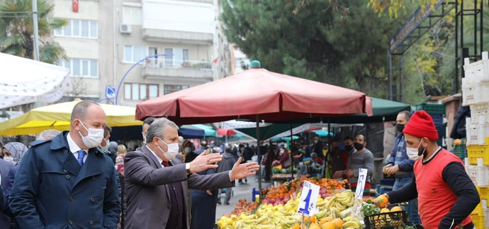 Yunusemre'de pazar yerlerinin günleri değişti