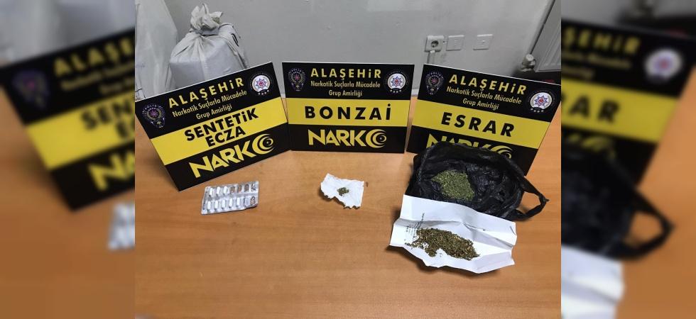 Alaşehir'de uyuşturucuya geçit yok
