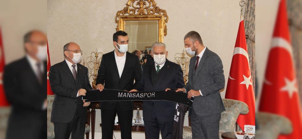 Son Başbakan Binali Yıldırım'dan Vali Karadeniz'e ziyaret