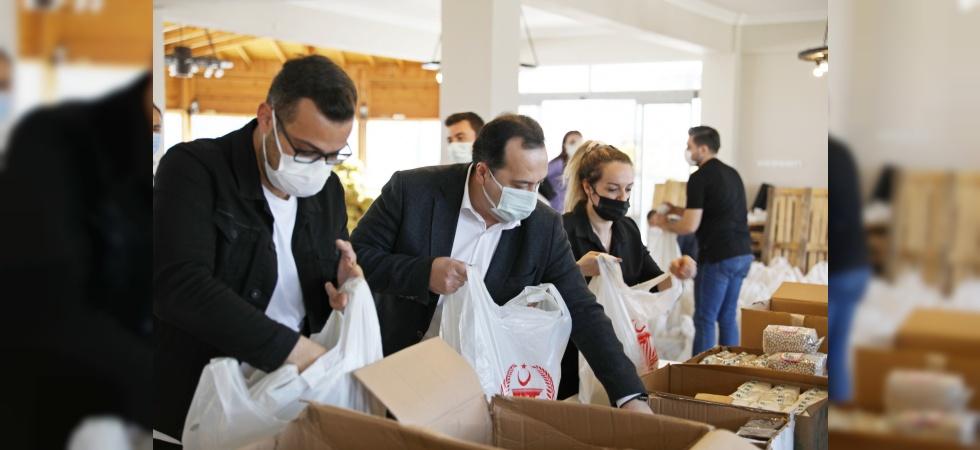 Akhisar Belediyesi'nden ihtiyaç sahiplerine Ramazan yardımı