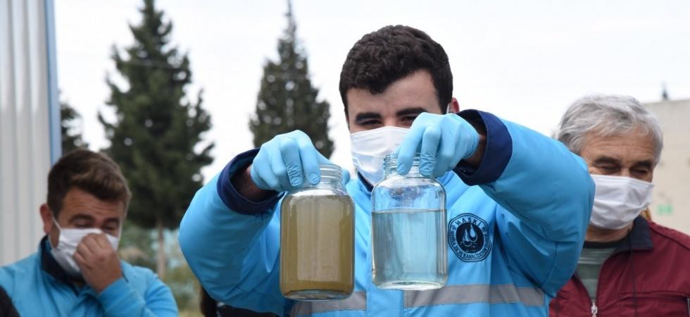 Akhisar'ın çevreci tesisi muhtarlardan tam not aldı