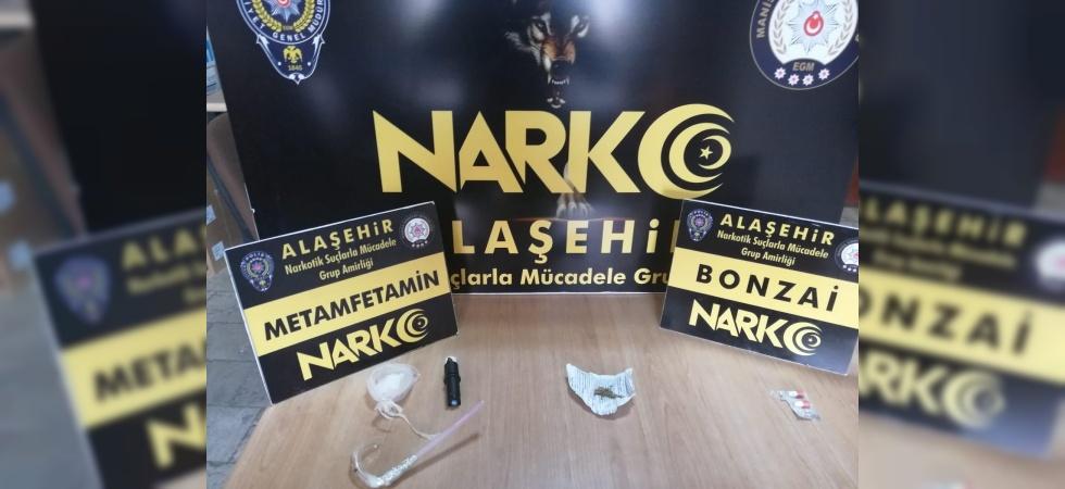 Alaşehir'de uyuşturucudan 2 tutuklama