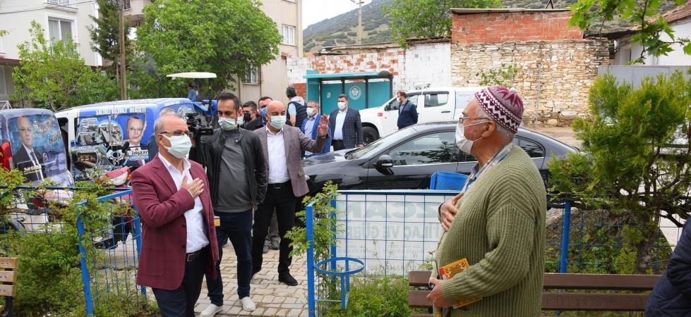 Başkan Kayda, 4 mahalleyi ziyaret etti