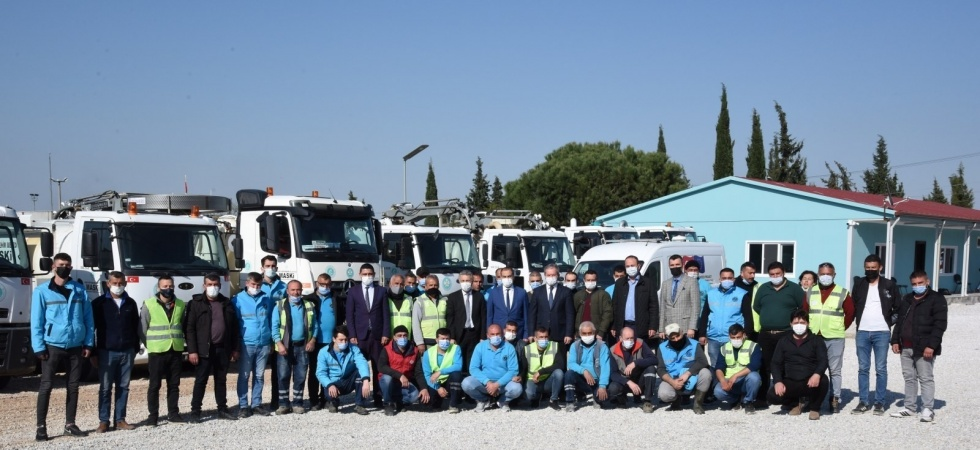 Kanal arıza ekiplerinin yeni hizmet binası faaliyete girdi