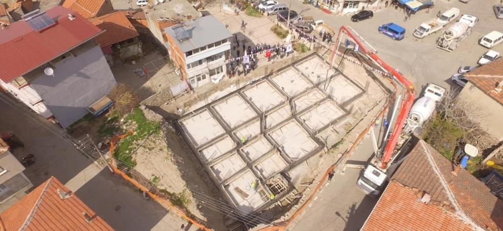 Kula'da gençlik merkezinin inşaatı başladı