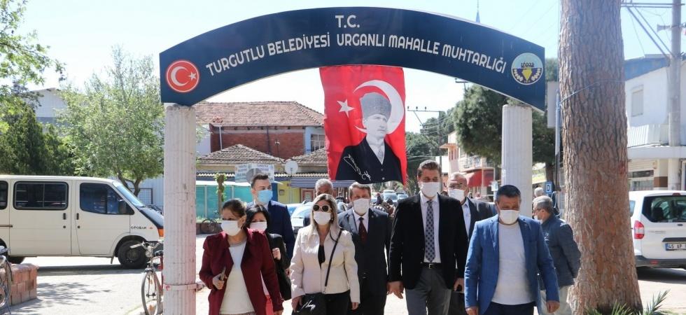 Manisa Büyükşehir Belediyesi ve MASKİ'den Turgutlu'da inceleme