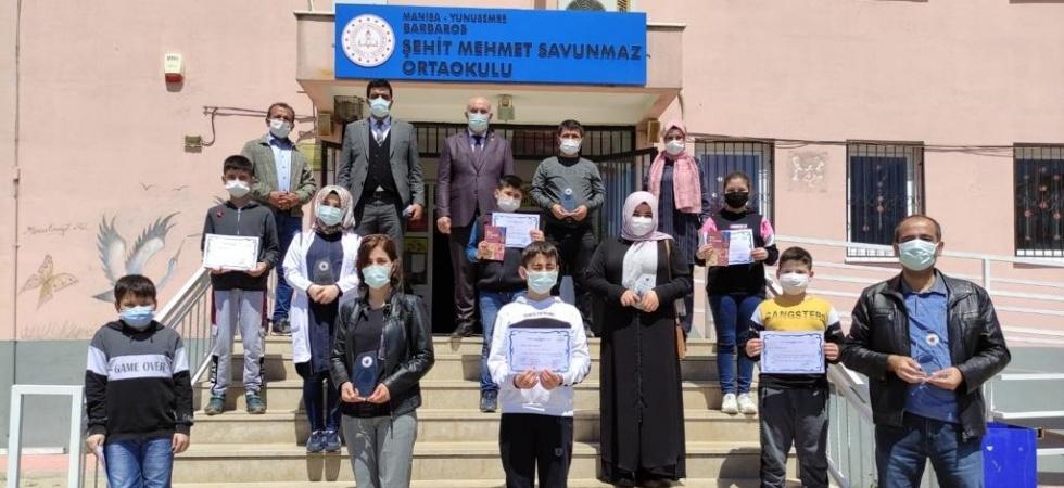Öğrenci ve ailelerine yönelik yapılan 'Siyer-i Nebi' yarışmasının ödülleri dağıtıldı