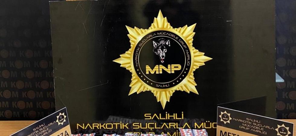 Salihli'de uyuşturucu operasyonu