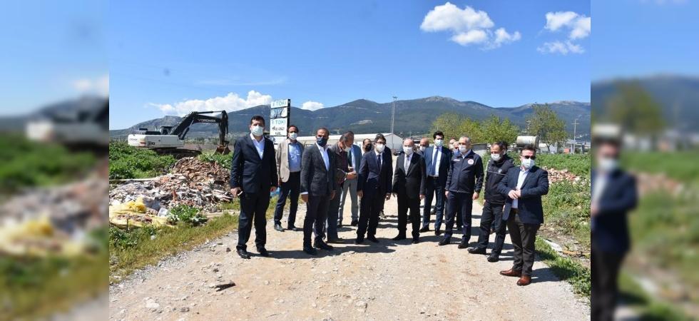 Sancaklıbozköy TOKİ konutları için geri sayım başladı