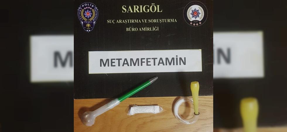 Sarıgöl Emniyeti uyuşturucu kullanımına geçit vermedi