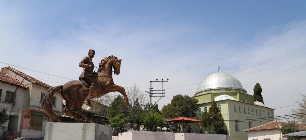 Saruhanlı Belediyesi Gökçeköy'ün çehresini değiştiriyor
