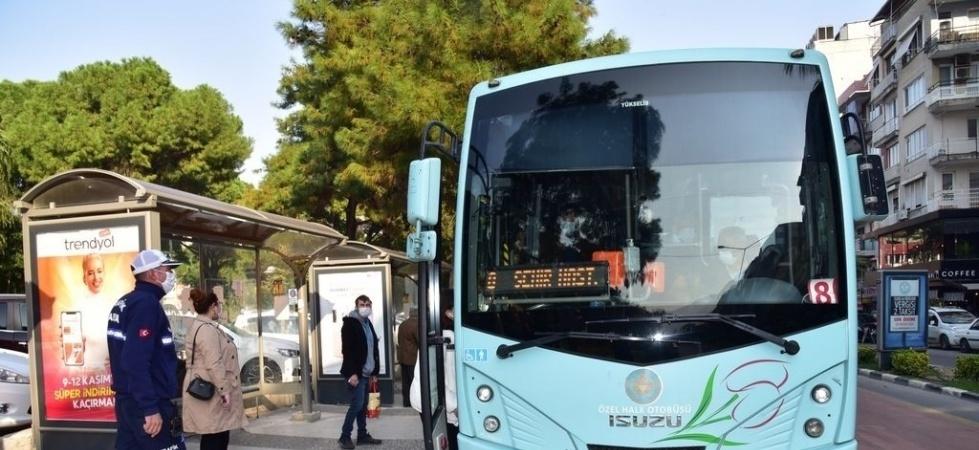 Tam kapanmada şehir içi toplu taşıma hizmeti devam edecek