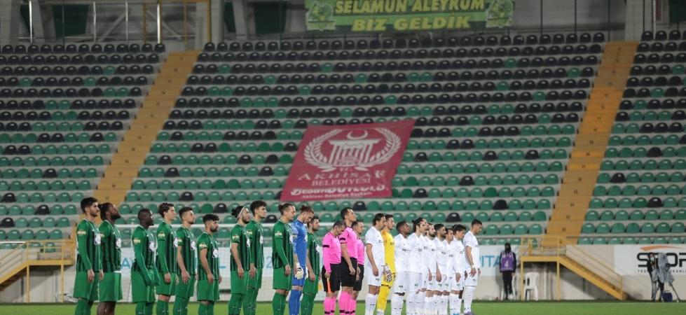 TFF 1. Lig: Akhisarspor: 0 - Altay: 0 (İlk yarı sonucu)