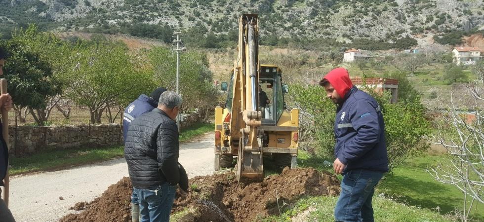 Yaz sezonu öncesi tarımsal sulama tesislerinde bakım çalışmaları yapıldı