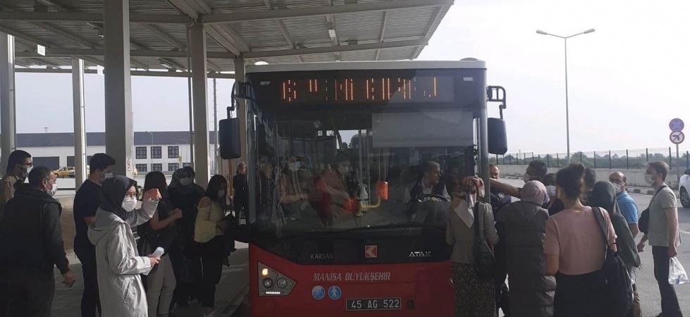 Manisa Büyükşehir Belediyesi ALES için ter döktü