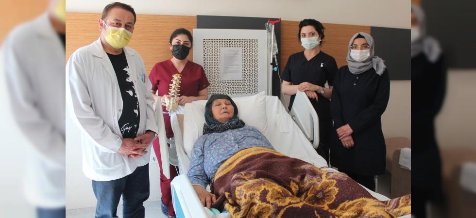 Nadir görülen hastalıktan doktoru sayesinde kurtuldu