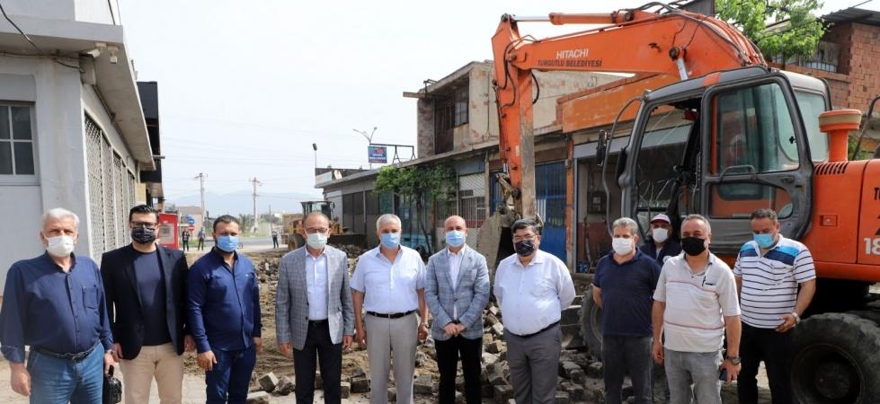 Turgutlu'da sanayi esnafını sevindiren çalışma