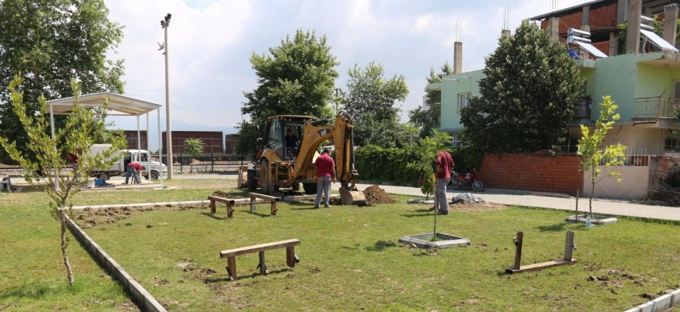 Turgutlu'da çocukları sevindirecek çalışma