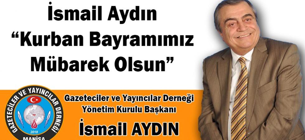 """Aydın """"Kurban Bayramımız Mübarek Olsun"""""""