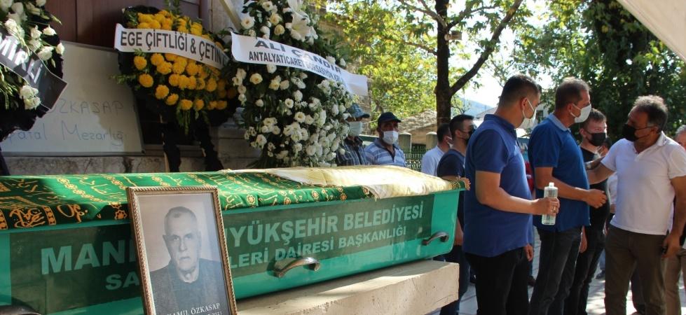 Manisa Ticaret Borsası Başkanı Özkasap'ın acı günü