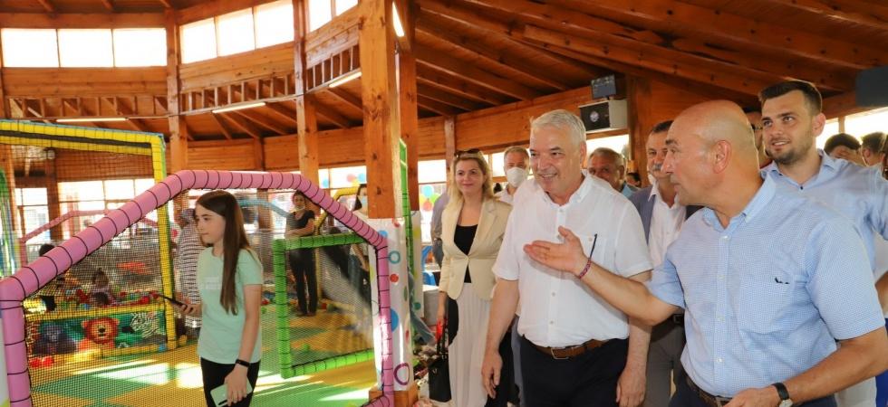 Saruhanlı'da 'Çocuk Oyun Kulübü' açıldı