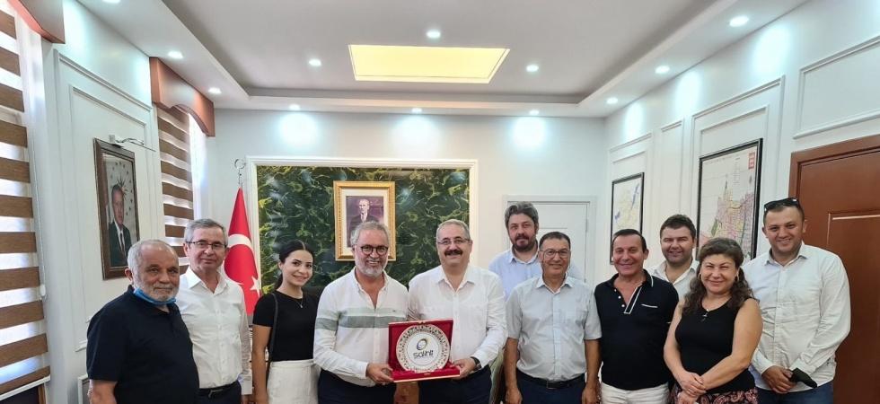 İzmir'deki Salihlilerden ziyaret turu