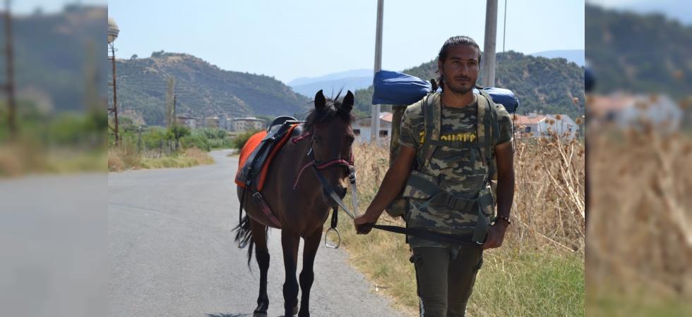 'Kaşif' adını verdiği atıyla İzmir'den Batman'a yürüyecek