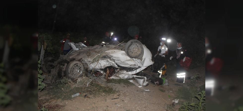 Manisa'da feci kaza: 4 ölü, 5 yaralı