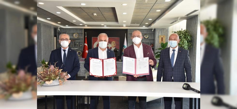 Manisa'da 'Huzurevi ve Alzheimer Gündüz Bakımevi' için imzalar atıldı