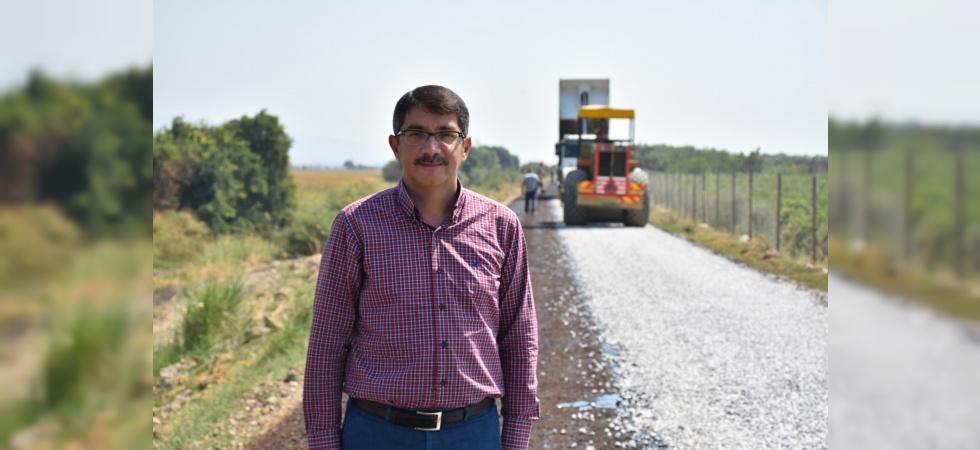 Şehzadeler Belediyesi her yıl 100 kilometre ova yolu asfaltlamayı hedefliyor