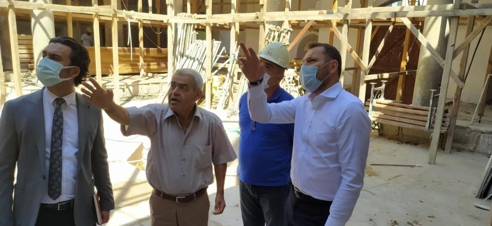 Vakıflar Genel Müdür Yardımcısı Ökten Manisa'daki çalışmaları inceledi