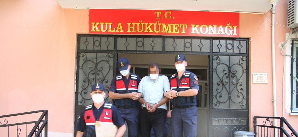15 ayrı suç kaydıyla Kula'da yakalanan şüpheli tutuklandı