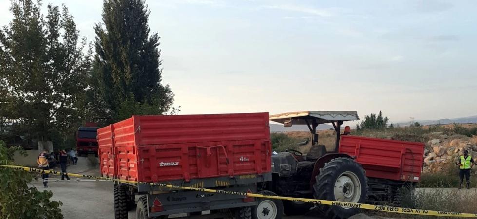 Akhisar'da traktör kazası: 1 ölü