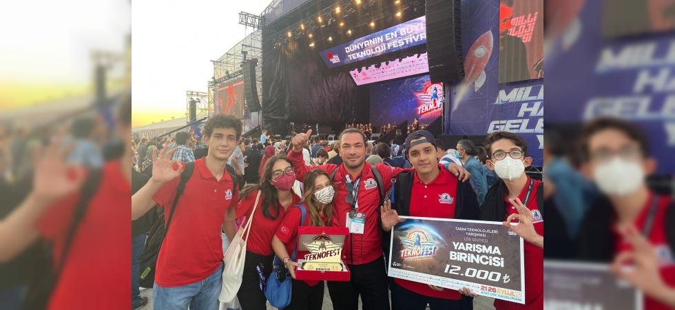 Başkan Çerçi TEKNOFEST 2021 şampiyonu olan Manisalı öğrencileri kutladı