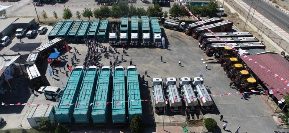 Manisa Büyükşehir Belediyesi ve MASKİ'ye 50 milyonluk dev filo