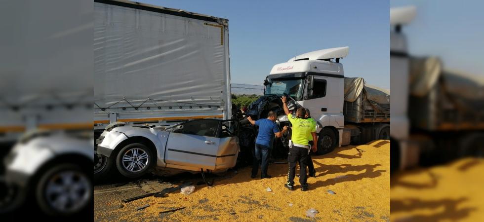 Manisa'da 3 kişinin öldüğü katliam gibi kazada tır sürücüsü tutuklandı