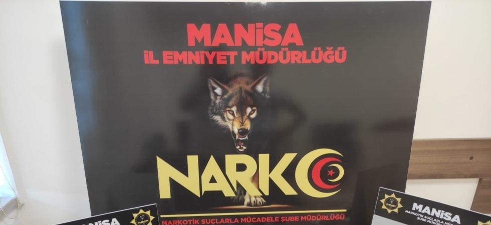 Manisa'da 6 adrese eş zamanlı uyuşturucu operasyonu: 3 gözaltı