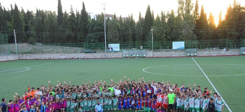 """Salihli'de """"Kurtuluş Kupası"""" turnuvası"""