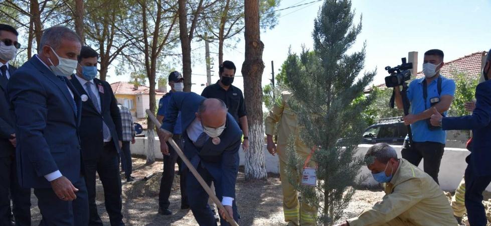 Şehit Jandarma Er Yücel Ergin Kütüphanesi törenle açıldı