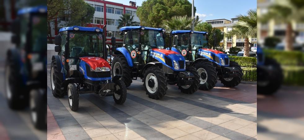 Soma Belediyesi iş makinelerini yeniliyor
