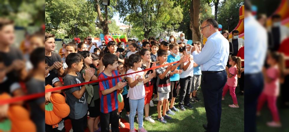 Turgutlu Belediyesi 'Çocuk Şenliği' ile bir ilk daha imza attı